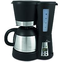 SUNTEC Cafetière filtre KAM-9004 [programmation (minuterie et heure), + système anti-gouttes, verseuse isotherme (1…