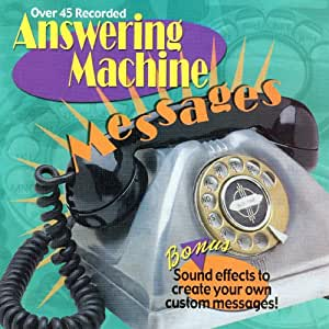 answering machine sound effect