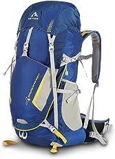 KEYNICE Leichtes Wanderrucksack 50L Trekkingrucksäcke Reiserucksack Lightweight Wasserdicht Hiking Backpack mit Regenhülle für Camping/Wandern/Bergsteigen/Reisen-