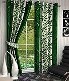 Bhavya Eyelet Fancy Polyester 2 Piece Do...
