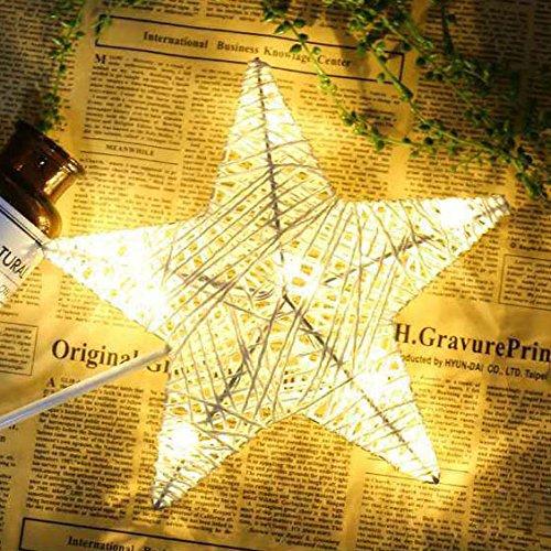 ZHENWOFC Weihnachten LED Rattan Tisch Mini Nachtlicht Schreibtischlampe Hochzeit Schlafzimmer Weihnachtsdekor Geschenke Innenlicht (Color : 2) - Schlafzimmer-rattan-tisch