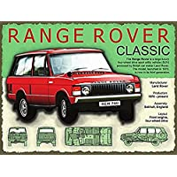 Range Rover Classic. Red 4x4 from Land