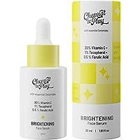 Chemist at Play Advanced Brightening Face Serum with Ceramides   20% Vitamin C + 1% Tocopherol + 0.5% Ferulic Acid   All…