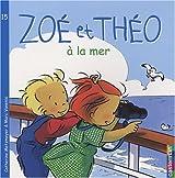 Zoé et Théo à la mer