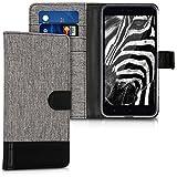 kwmobile Xiaomi Redmi Note 5A (4G) Hülle - Kunstleder Wallet Case für Xiaomi Redmi Note 5A (4G) mit Kartenfächern und Stand