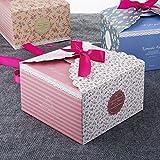 [12 Stück] Geschenkboxen, MOOKLIN farbig Gastgeschenk Mitgebsel Box für Weihnachten Kinder-Geburtstag Hochzeitsgeschenk