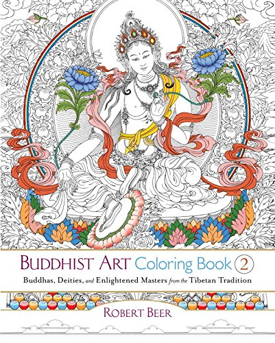 buddhist-art-coloring-book-2-buddhas-deities-and-enlightened-masters-from-the-tibetan-tradition-colo