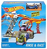 #5: Hot Wheels Rinse and Race Play Set, Multi Color