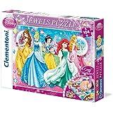Princesas Disney - Puzzle Disney Princess 1 con joyas, 104 piezas (20077.1)