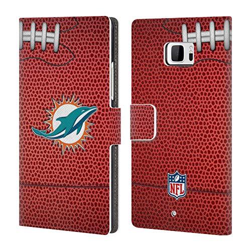 fizielle NFL Fußball 2018/19 Miami Dolphins Brieftasche Handyhülle aus Leder für HTC U Ultra/Ocean Note ()