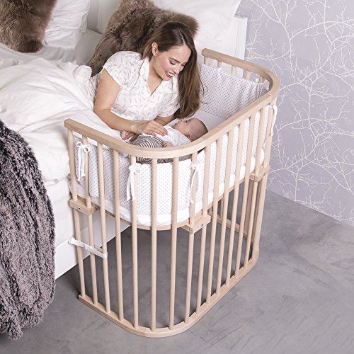 babybay boxspring cuna de colecho con ventilaci n extra color madera natural. Black Bedroom Furniture Sets. Home Design Ideas
