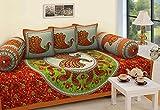 #10: RajasthaniKart Traditional 6 Piece Diwan e-Khas - 100%Cotton