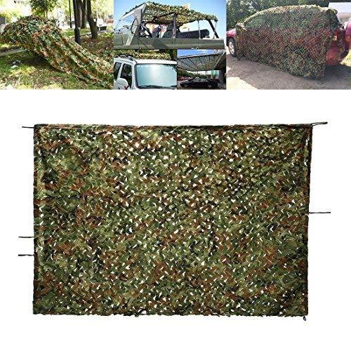 Red de Camuflaje, OUTERDO 2 m x 3 m para Bosque de Camuflaje, Caza de Campo y Cobertura