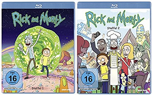 Produktbild Rick & Morty Staffel 1+2 / Blu-ray Set
