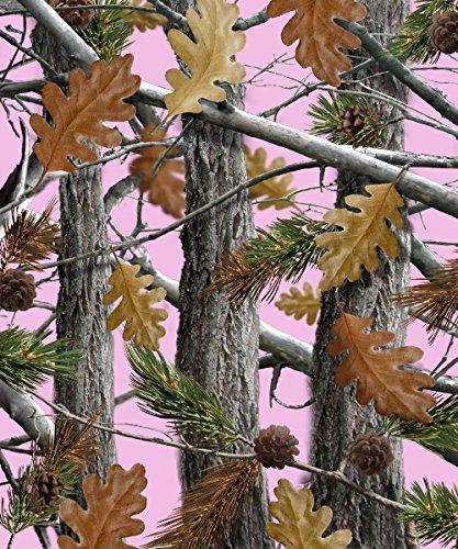 152,4x 203,2cm Decke Komfort Wärme weichem Cozy Klimaanlage einfach Pflege Maschinenwäsche Camo Bäume pink Camo Quilt