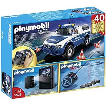 Playmobil - 310295 - 5528 - 4x4 De Police Radiocommandé Avec Caméra