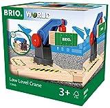 BRIO World 33866 - Eisenbahn-Magnetkran