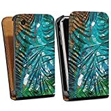 DeinDesign Apple iPhone 3Gs Étui Étui à Rabat Étui magnétique Palmiers Vert...