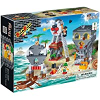 Price comparsion for BanBao Building Blocks Bricks Construction Pirate Island Battle War - Number 1 Toys & Games Create Your Own Child Children Boys Boy Kids - Great Idea for Fun Easter, Birthday Xmas, Christmas, Stocking Filler Present Gift or Reward or Pocket Money Treat -