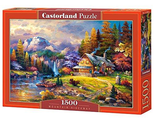 CASTORLAND Mountain Hideaway 1500 pcs Puzzle - Rompecabezas (Puzzle Rompecabezas, Hada, Niños y Adultos, Niño/niña, 9 año(s), Interior)