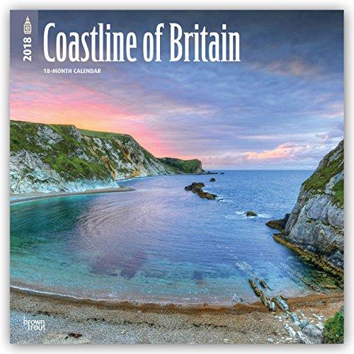 Descargar Libro Coastline of Britain - Die Küsten Großbritanniens 2018 - 18-Monatskalender mit freier TravelDays-App: Original BrownTrout-Kalender de Browntrout