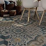 wall art 15 pezzi 20x20 cm - PP00045 Decorazione adesiva in PVC per pavimenti su materiale calpestabile - Stickers design - Agadir