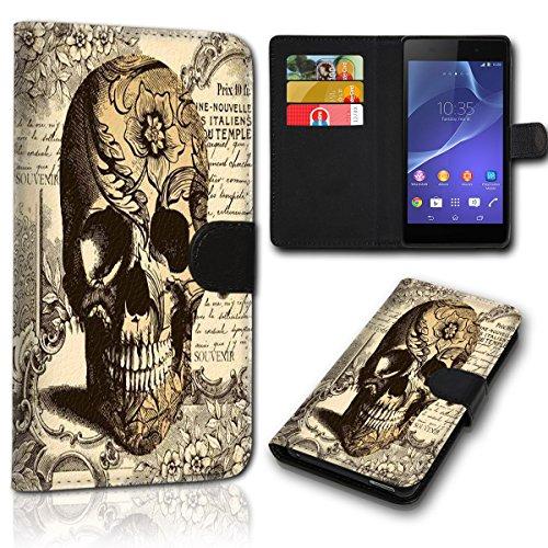 sw-mobile-shop Book Style Wiko Jerry 2 Tasche Flip Brieftasche Handy Hülle Kartenfächer für Wiko Jerry 2 - Design Flip SVH1155
