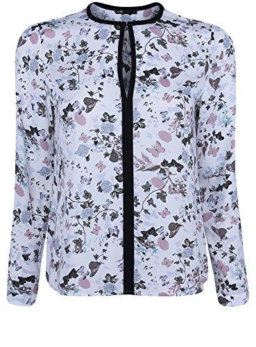 oodji-ultra-donna-camicetta-in-tessuto-fluido-con-finiture-a-contrasto-bianco-it-48-eu-44-xl