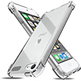 Plus Ultra Clear Slim Shockproof Anti Slip Grip Soft Transparent Back Cover Case for Apple iPod Touch 6 / Touch 5
