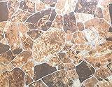 Klebefolie Dekorfolie Bruchstein braun meliert 45x200 cm Selbstklebefolie Möbelfolie