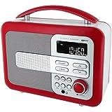 BigBen TR21 Radio Portable USB Rouge