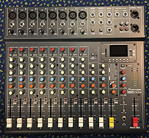 Studiomaster Club XS12 Live Mixer - 12 Input With