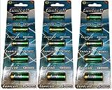 15 x 4LR44 6V (3 Blister a 5 Batterien) Quecksilberfreie Alkaline Batterien PX28, 4G13, 476A, L1325 EINWEG Markenware Eunicell FBA