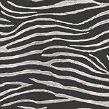 Tropiques Serengeti Zebra Imprimer-Noir-Papier Peint Art House 670300