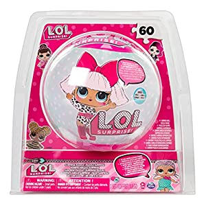 L.O.L. Puzzle in Ball 60pieza(s) - Rompecabezas (Jigsaw puzzle, Dibujos, Niños, Chica, 5 año(s), 171,5 mm) , Modelos/colores Surtidos, 1 Unidad