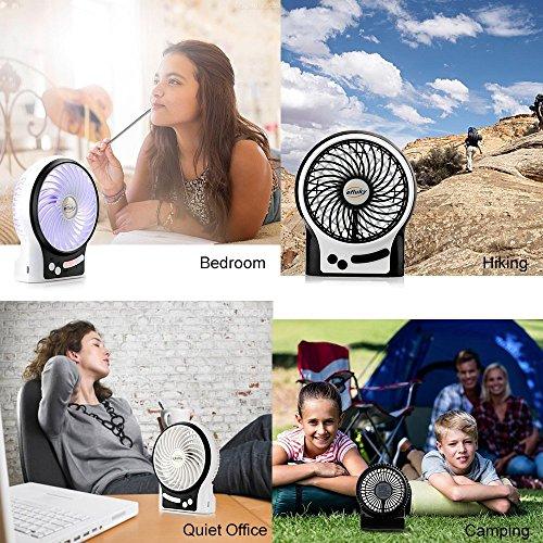efluky USB Ventilator Leise Mini Bild 4*