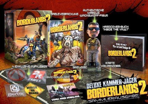 Borderlands 2 - Deluxe Kammerjäger Special Edition (100{abfc93a8c7df6919ef22b344e3760dd326e22c283381675fd893fe1f1e3f3ce1} uncut)