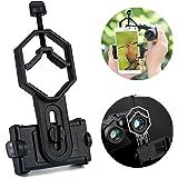 Surplex Adaptateur Smartphone Portable Universel Digiscoping Adapter pour télescope, monoculaire, Microscope, Jumelles