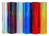 (EUR 19,49/m²) Plottfolie (100cm x 61cm) Metall Flakes Silver Oilslick Glitter Auto Effekt Folie Hologramm (Flakes Silber Hologramm)