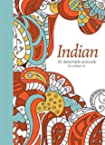 Indian: 20 detachable postcards to colour in