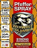 Werwolf Columbia Pfefferspray Verteidigungsspray Pfeffer Spray Breitstrahl 20ml (20ml) (20ML)