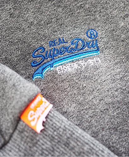 Superdry Uomo Maglieria / Hoodies con zip Orange Label Cali Grigio