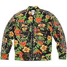 check out c2a39 635ce Adidas Originals ObyO Jeremy Scott JS Flower Hueso TT Chaqueta Deportiva  Hombre - translation, original