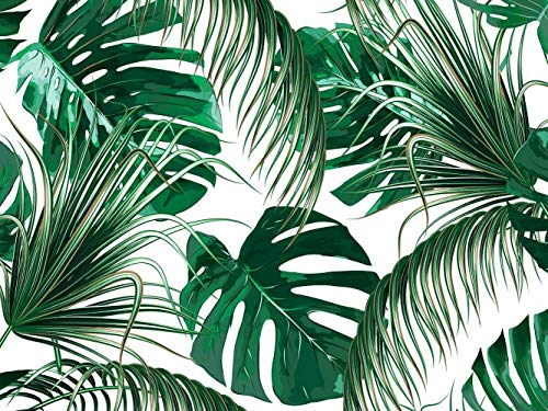 Vinyl Wand Palm Baum| Verschiedene Maße 100x70 cm | Dekor Esszimmer, Wohnzimmer, Zimmer ... Elegantes Design Landschaftsmotive