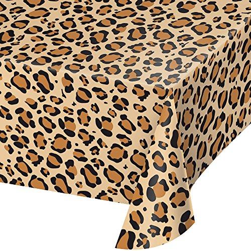 329660 Tischdecke, Leopardenmuster, 137 x 274 cm, mehrfarbig ()