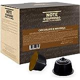 Note D'Espresso - Capsule - Compatibili con macchine Nescafé* e Dolce Gusto* - Cioccolato e Nocciola - 48 caps