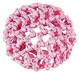 tanzmuster Ballett Duttnetz Clara mit Gummiband in rosa - für den perfekten Halt des Ballett Dutts und als süße Ergänzung für jedes Ballettoutfit