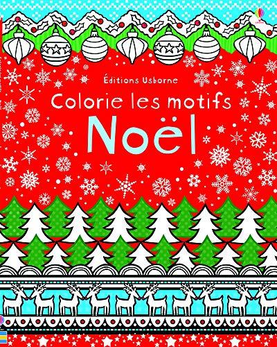Colorie les motifs - Noël
