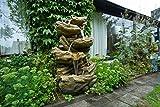 Ubbink Wasserspiel Sedona Brunnen Wasserfallschalen Garten Wasserfall Steinoptik