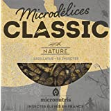 Microdélices Insectes Comestibles Classic 50 Grillons Natures 5 g -
